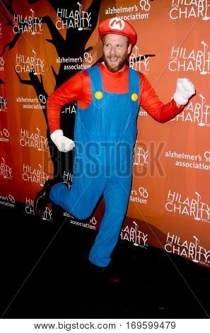 LOS ANGELES - OCT 15:  Seth Rogen at the 5th Annual Hilarity for Charity Variety Show: Seth Rogen's Halloween at Hollywood Palladium, on October 15, 2016 in Los Angeles, CA