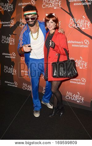 LOS ANGELES - OCT 15:  Michael Mesini, Katrina Begin at the 5th Annual Hilarity for Charity Variety Show: Seth Rogen's Halloween at Hollywood Palladium, on October 15, 2016 in Los Angeles, CA