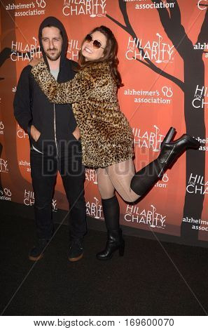 LOS ANGELES - OCT 15:  Katie Lowes, Adam Shapiro at the 5th Annual Hilarity for Charity Variety Show: Seth Rogen's Halloween at Hollywood Palladium, on October 15, 2016 in Los Angeles, CA