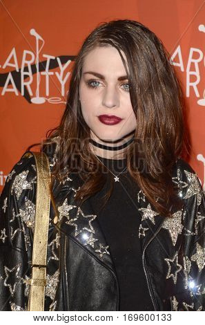 LOS ANGELES - OCT 15:  Frances Bean Cobain at the 5th Annual Hilarity for Charity Variety Show: Seth Rogen's Halloween at Hollywood Palladium, on October 15, 2016 in Los Angeles, CA