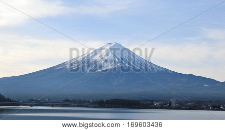Mount Fuji is the highest mountain in Japan.