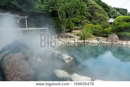Hotsprings in Beppu city