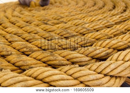 Fibre rope texture