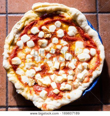 Pizza Margherita In Napoli