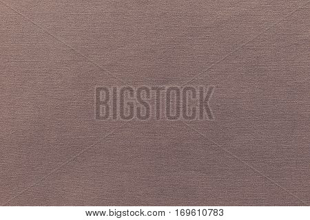 texture and background of rough fabric or cotton material of brown color