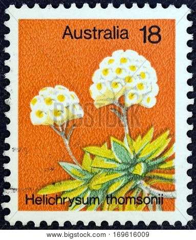 AUSTRALIA - CIRCA 1975: A stamp printed in Australia from the