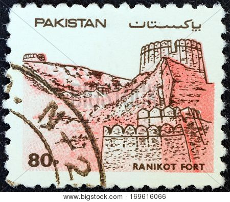 PAKISTAN - CIRCA 1984: A stamp printed in Pakistan from the