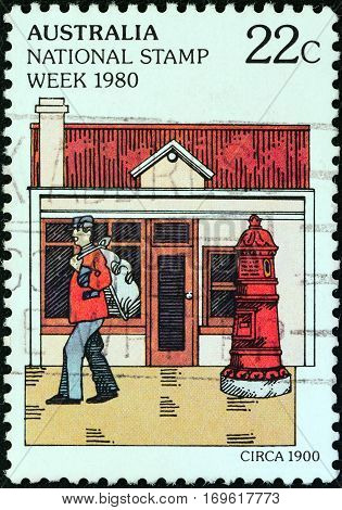 AUSTRALIA - CIRCA 1980: A stamp printed in Australia from the