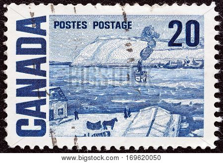 CANADA - CIRCA 1967: A stamp printed in Canada from the