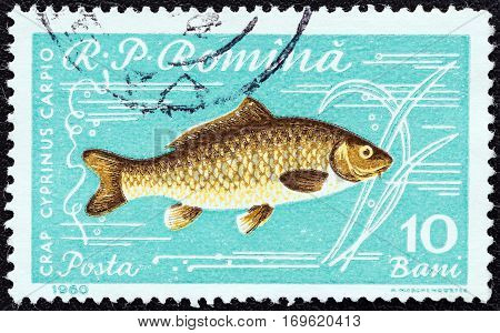 ROMANIA - CIRCA 1960: A stamp printed in Romania from the