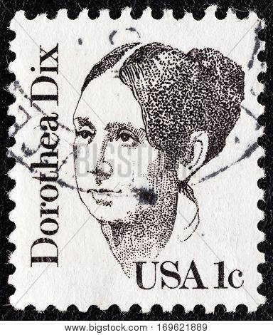 USA - CIRCA 1980: A stamp printed in USA from the