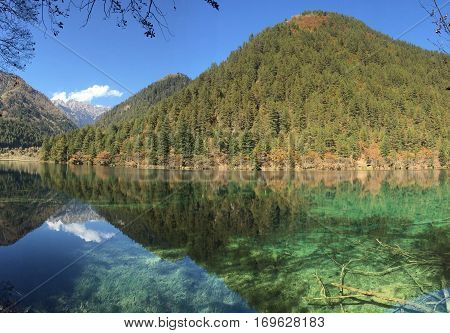 Jiuzhai Valley is most renowned for its stunning natural scenery of colorful lakes mature forests and spectacular waterfalls.