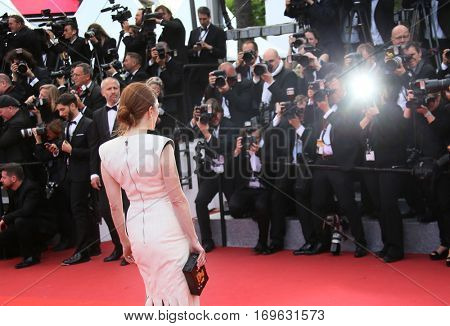 Julianne Moore attends the 'Money Monster' Premiere during the 69th annual Cannes Film Festival on May 12, 2016 in Cannes, France.