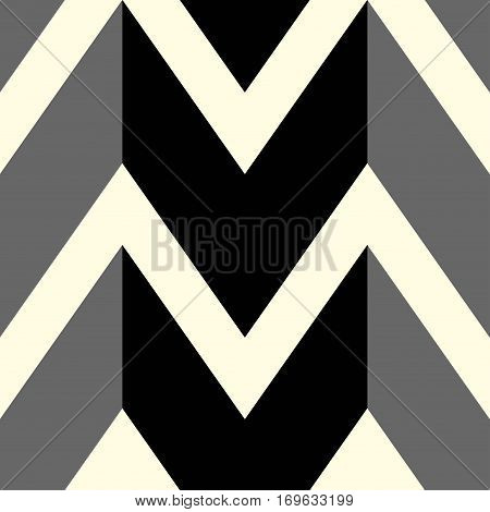 The pattern in which black and gray lines. Vector illustration