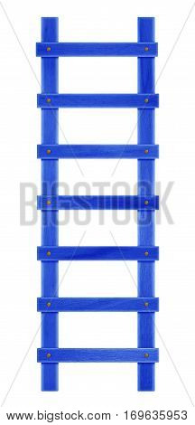 Wooden Step Ladder - Dark Blue
