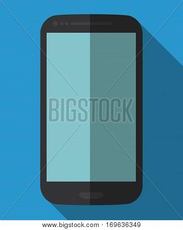 smartphone cellphone icon image vector illustration design