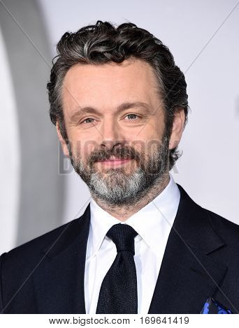 LOS ANGELES - DEC 14:  Michael Sheen arrives to the