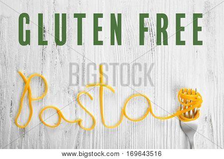 Gluten free pasta concept