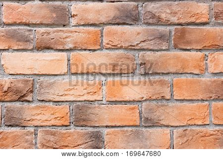 Old brick wall. Texture of old brickwork. With place for your text