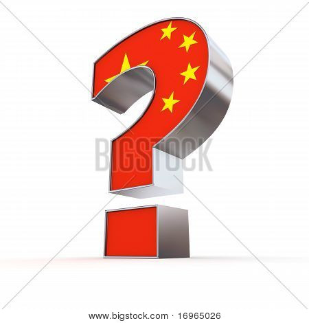 China Question Mark