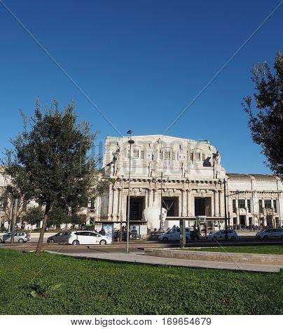 Stazione Centrale In Milan