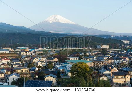 Fujisan in Shizuoka