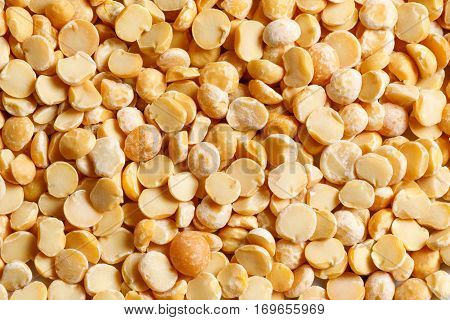 yellow peas raw food ingredient texture macro close up detailed