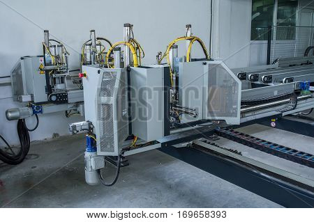 machines for the production of plastic windows