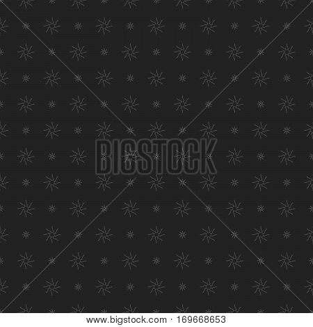 Arabic abstract geometric pattern. Letter simbol on a gray background.