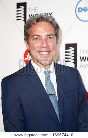 NEW YORK-MAY 19: Huffington Post Founding Editor Roy Sekoff attends the 18th Annual Webby Awards at Cipriani Wall Street on May 19, 2014 in New York City.