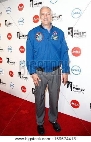 NEW YORK-MAY 19: NASA Astronaut Mike Massimino attends the 18th Annual Webby Awards at Cipriani Wall Street on May 19, 2014 in New York City.