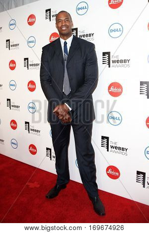 NEW YORK-MAY 19: NBA player Jason Collins attends the 18th Annual Webby Awards at Cipriani Wall Street on May 19, 2014 in New York City.