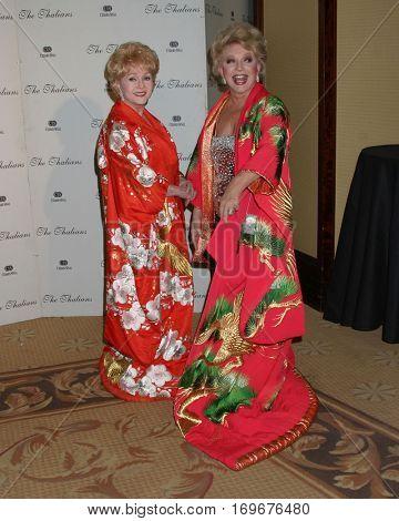 LOS ANGELES -NOV 7:  Debbie Reynold, Ruta Lee arrive at the Thalians Ball at the Century Plaza Hotel on November 7, 2004 in Century City, CA