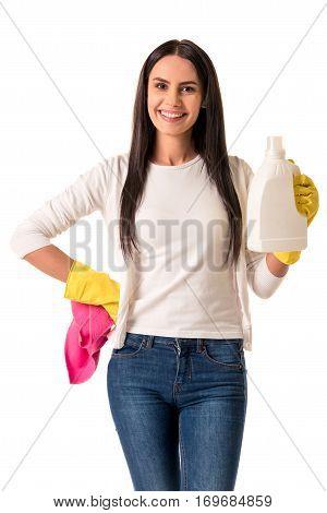 Beautiful Young Housewife