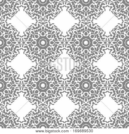 Abstract Seamless Pattern Of Gray Spots.