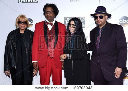 LOS ANGELES - NOV 20:  Prince's Family arrives to the American Music Awards 2016 on November 20, 2016 in Hollywood, CA