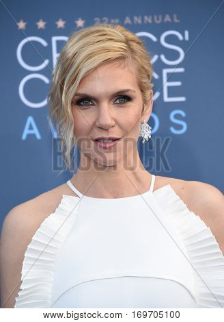 LOS ANGELES - DEC 11:  Rhea Seehorn arrives to the Critics' Choice Awards 2016 on December 11, 2016 in Hollywood, CA