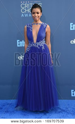LOS ANGELES - DEC 11:  Susan Kelechi Watson arrives to the Critics' Choice Awards 2016 on December 11, 2016 in Hollywood, CA