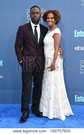 LOS ANGELES - DEC 11:  Sterling K. Brown and Ryan Bathe arrives to the Critics' Choice Awards 2016 on December 11, 2016 in Hollywood, CA