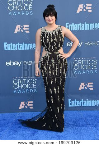 LOS ANGELES - DEC 11:  Ariel Winter arrives to the Critics' Choice Awards 2016 on December 11, 2016 in Hollywood, CA