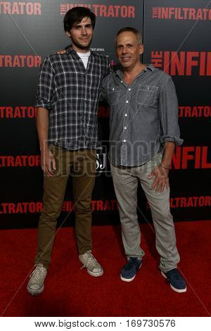 NEW YORK-JUL 11: Zach Pais (L) and Josh Pais attend