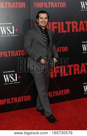 NEW YORK-JUL 11: Actor John Leguizamo attends