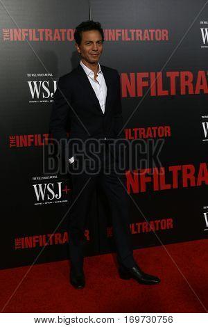 NEW YORK-JUL 11: Actor Benjamin Bratt attends