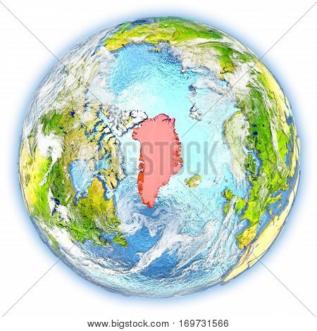 Greenland On Earth Isolated