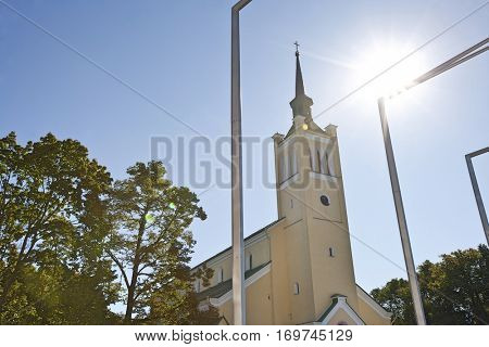 Church in Tallinn, Estonia