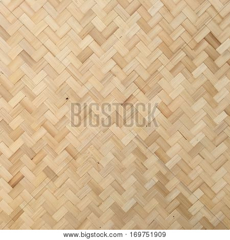 Floors and walls made of bamboo background