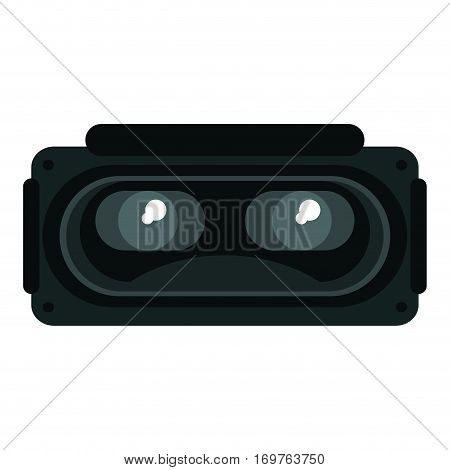 goggles 3d simulation entertaiment vector illustration eps 10