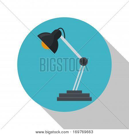 lamp desk object office vector illustration eps 10