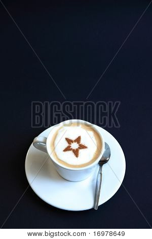Coffee with frothed milk