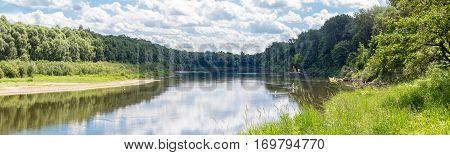 Desna Ukrainian River